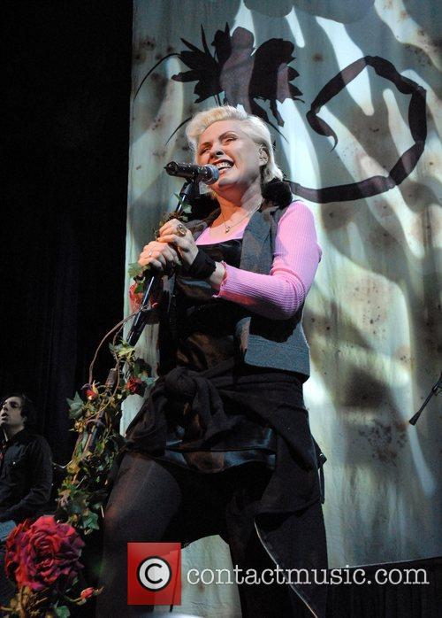 Deborah Harry performing live at the Sante Fe...