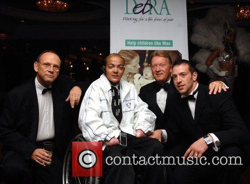 Frank Warren, Enzo Maccarinelli and guest Debra charity...