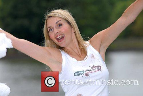 Debra Stephenson launches the Radox Great British Mud...