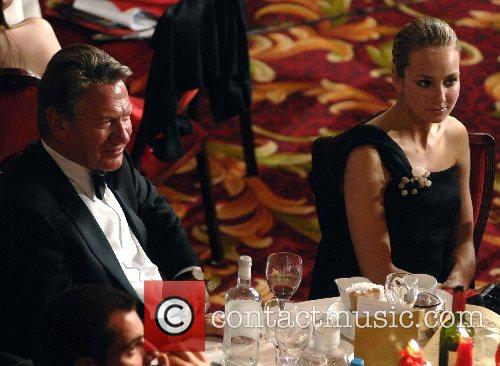 Michael Portillo and Lady Isabella Hervey share a...
