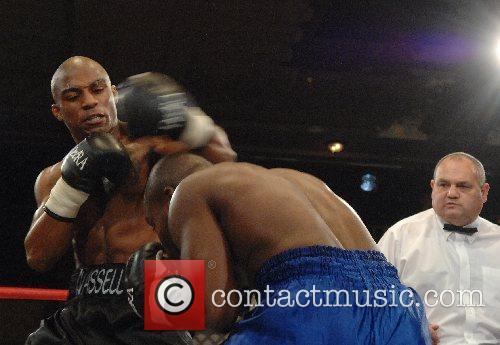 Denton Vassell (black, winner) vs Sherman Alleyne (blue)...