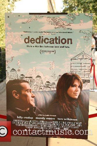 Dedication Poster New York Premiere of 'Dedication' at...