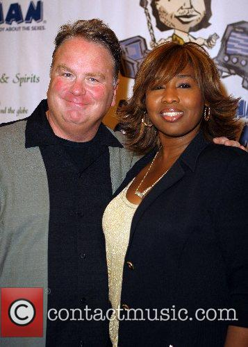 Kevin Burke, Kim Flowers Opening night of 'Defending...