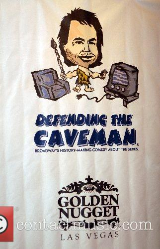 Opening night of 'Defending The Caveman' at the...