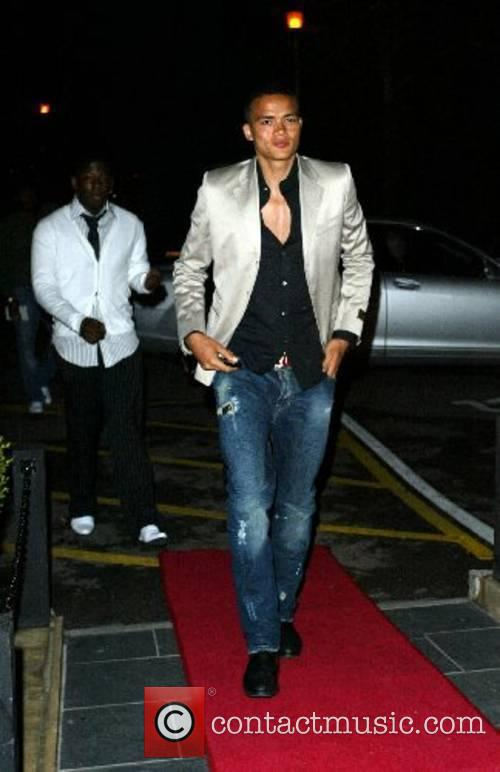 Jermaine Jenas Engagement party for Jermaine Defoe and...