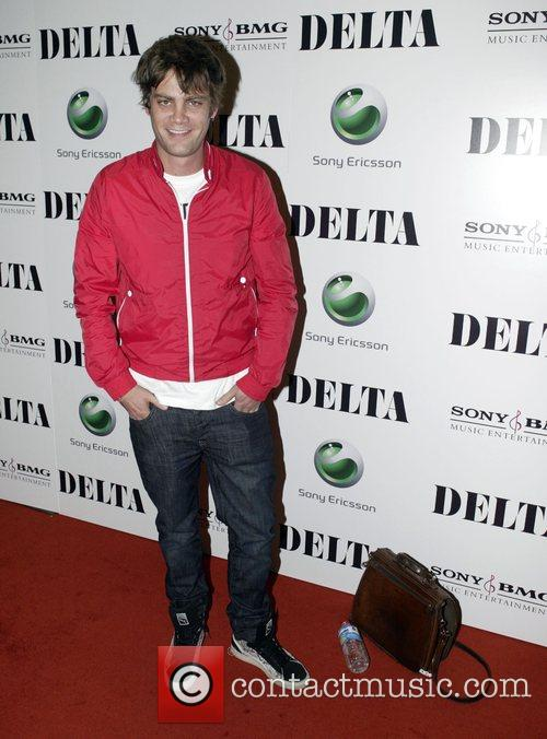 At the invitation only launch party for 'Delta'...