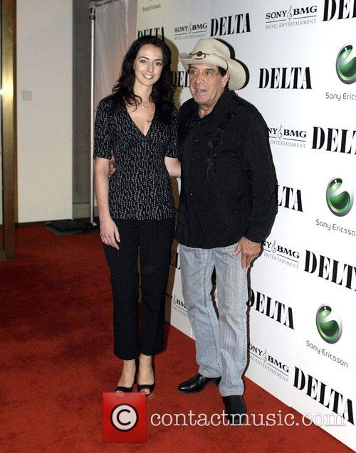 Molly Meldrum and guest at the invitation only...