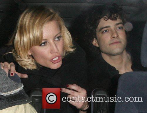 Denise Van Outen and her new boyfriend Lee...