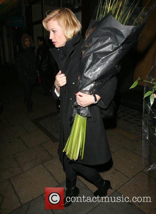 Denise Van Outen leaves the Century Club' after...