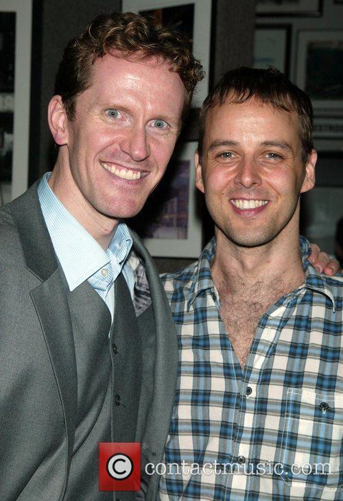 Jeffrey Denman and Noah Racey Jeffrey Denman In...