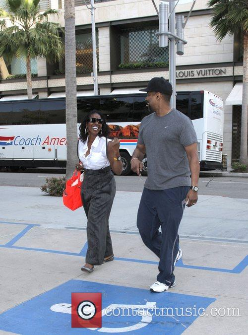 Denzel Washington and His Wife Pauletta Washington 3