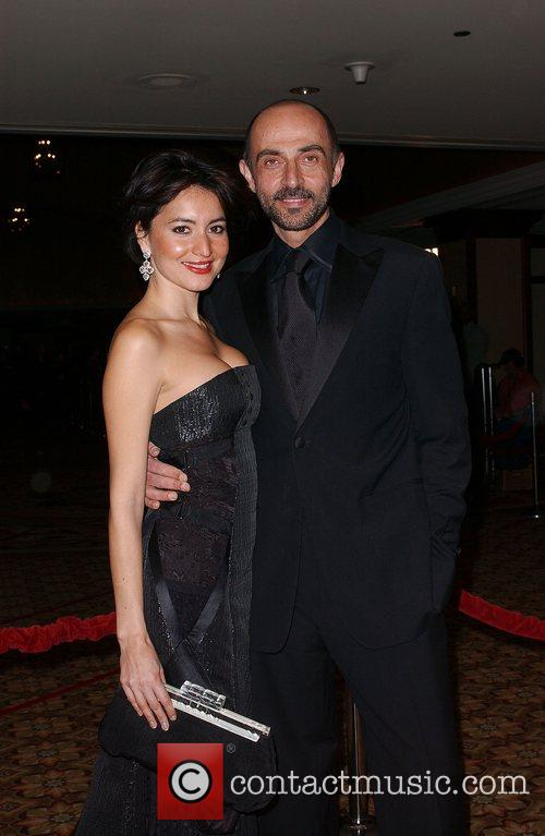 Shaun Toub with his wife The 60th Annual...