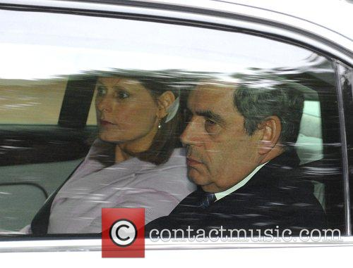 Sarah Brown and Gordon Brown 3