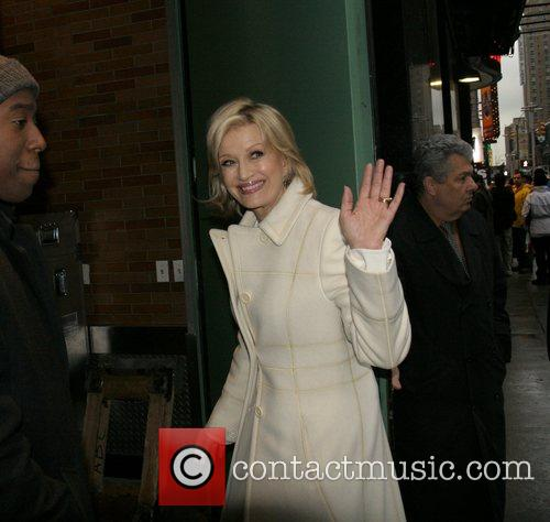 Diane Sawyer at ABC Studios for an appearance...