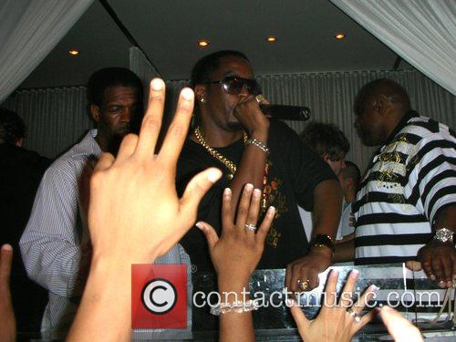 Sean Combs aka P Diddy partying at Pure...
