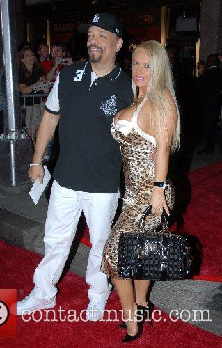 Ice T and Coco New York Premiere of...