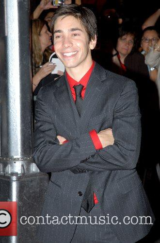 Justin Long New York Premiere of 'Live Free...