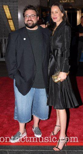 Kevin Smith and Jennifer Schwalbach Smith New York...