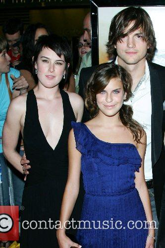 Rumer Willis, Tallulah Belle Willis and Ashton Kutcher...