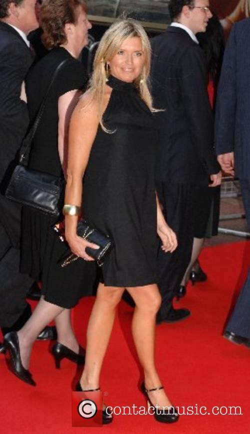 Tina Hobley 'Die Hard 4.0' Premiere held at...