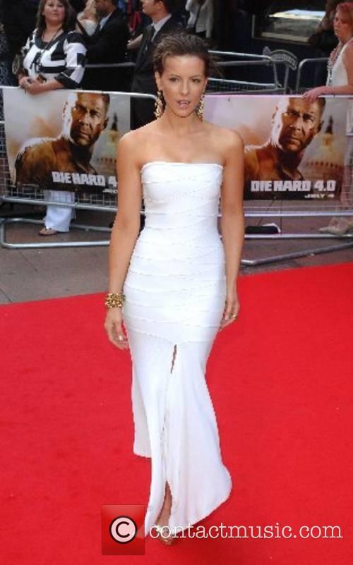 Kate Beckinsale 'Die Hard 4.0' Premiere held at...