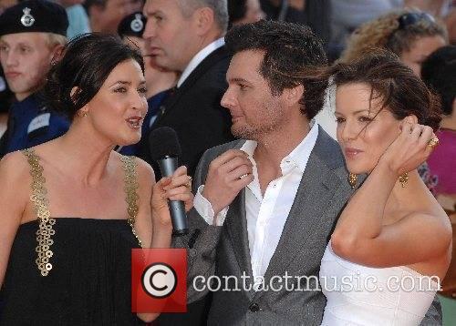 Lisa Snowdon, Len Wiseman, Kate Beckinsale UK Premiere...