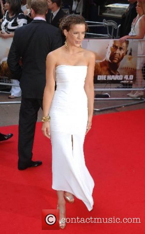 Kate Beckinsale UK Premiere of Die Hard 4.0...