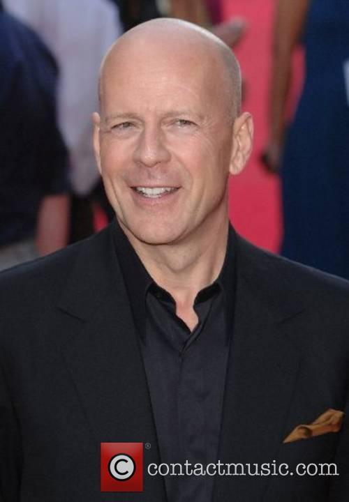Bruce Willis UK Premiere of Die Hard 4.0...