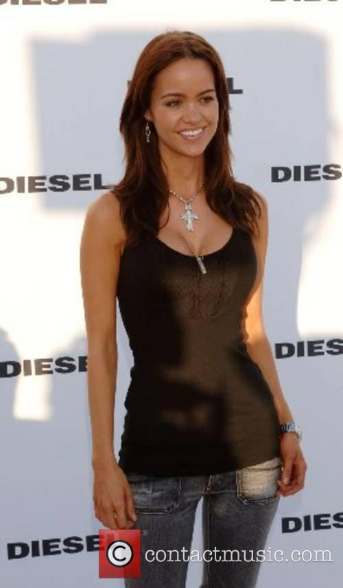 Diesel celebrates the opening of the Melrose Place...
