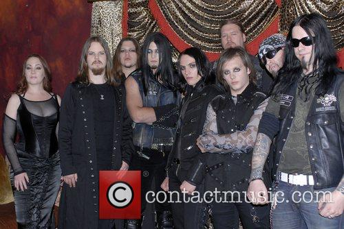 Dimmu Borgir and Weston Cage with his band...