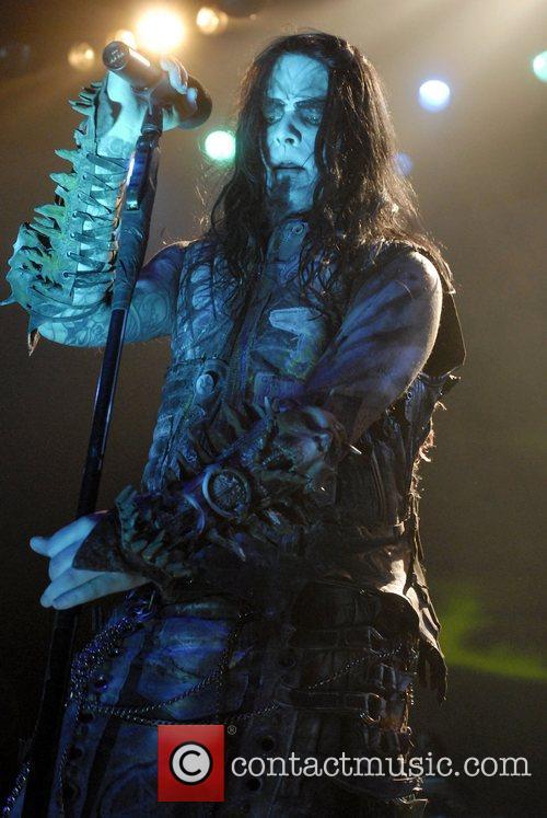 Dimmu Borgir performing live at the Grove