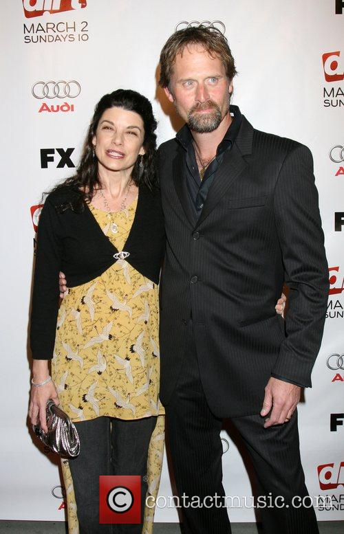Jeffrey Nordling and guest Premiere screening of 'Dirt'...