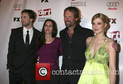 Ryan Eggold, Courteney Cox, Jeffrey Nordling, and Alexandra...