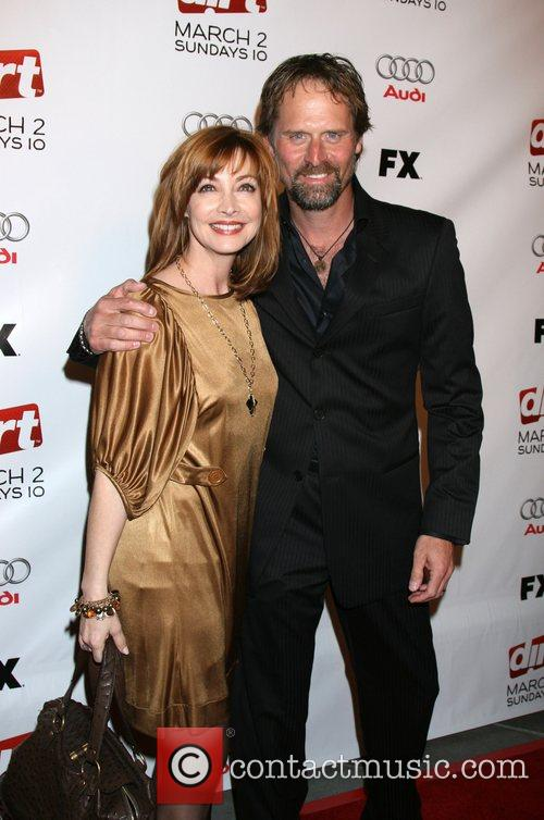 Sharon Lawrence and Jeffrey Nordling Premiere screening of...