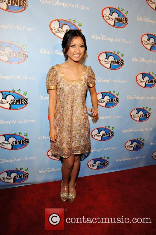 Brenda Song and Walt Disney 3