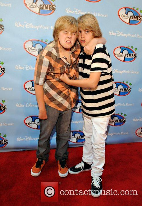 Dylan Sprouse and Walt Disney 1