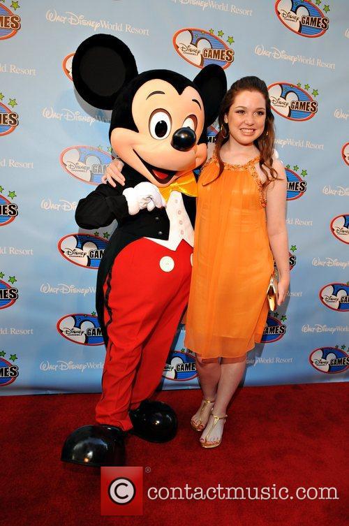 Jennifer Stone and Walt Disney 3
