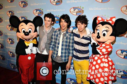 Jonas Brothers and Walt Disney 2