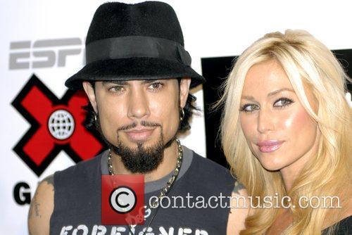 Dave Navarro and Nicole Bennett Disturbia DVD Premiere...