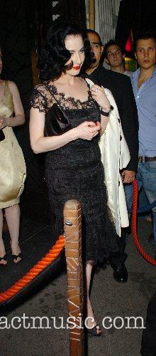 Dita Von Teese at the Mahiki Club