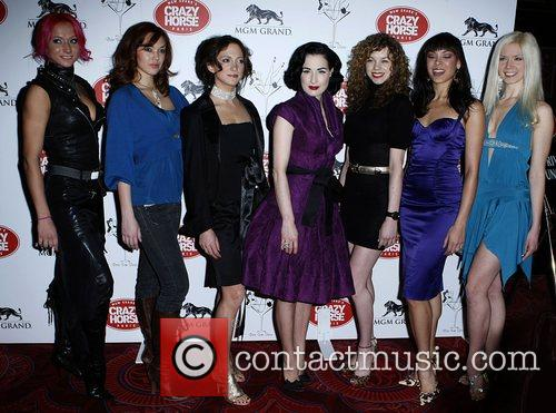 Dita Von Teese and Finalists 11
