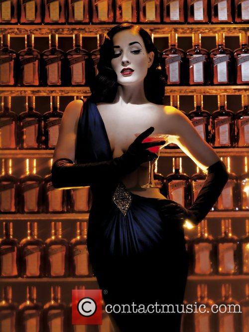 Dita Von Teese and Cointreau team up to...