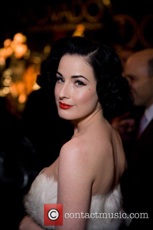 Dita Von Teese at Macy's Passport at Fort...