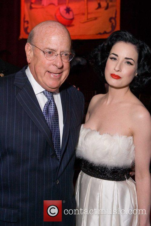 Robert Mettler and Dita Von Teese at Macy's...