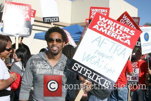 Jason George Writers Guild of America on strike...