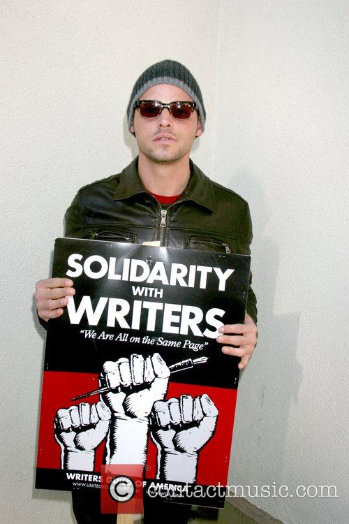 Justin Chambers Writers Guild of America on strike...