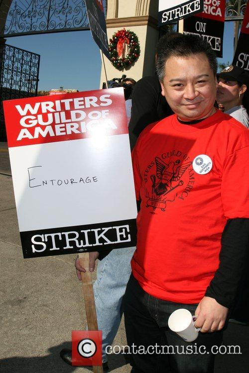 Rex Lee Writers Guild of America on strike...