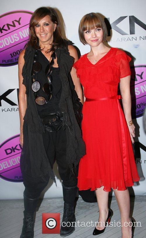 Donna Karen and Christina Ricci  'DKNY Delicious...