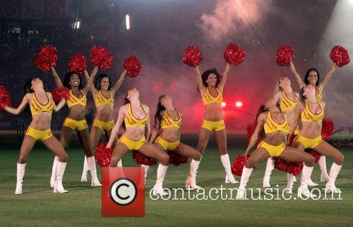 DLF IPL cricket match at Chinnaswamy stadium...
