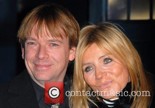 Adam Woodyatt and Michelle Collins 1